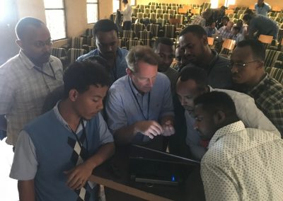 This is Dr John teaching new doctors on the