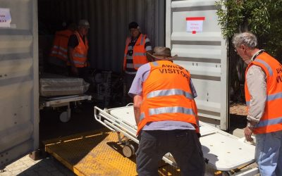 Sea Containers Packed for Ethiopia and Somaliland